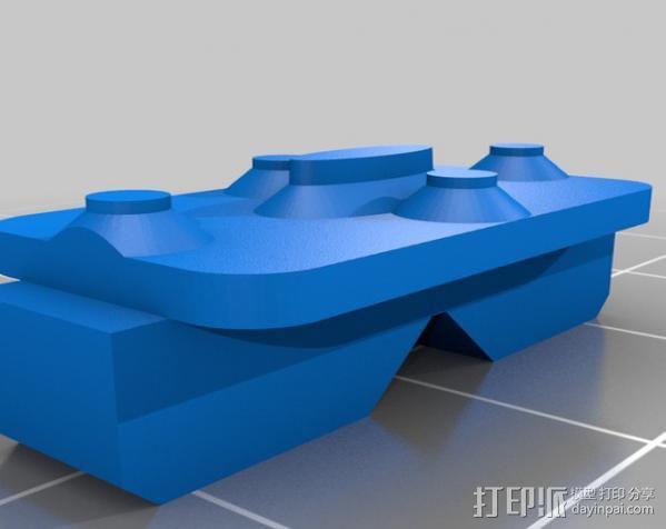 液晶板挡盖 3D模型  图4