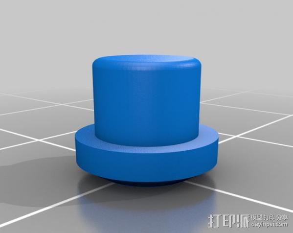 液晶板挡盖 3D模型  图5