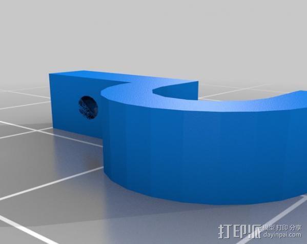 参数电缆支架 3D模型  图1