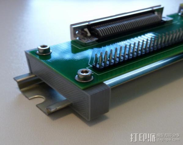 PCB视频安装 3D模型  图4
