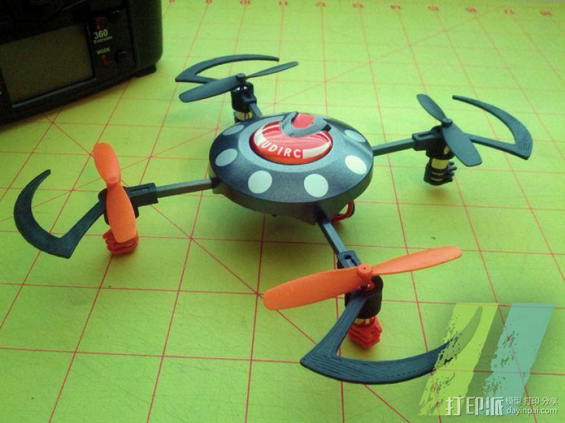 UDI U816四轴飞行器 3D模型  图1