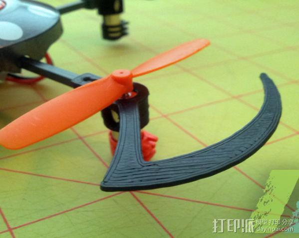 UDI U816四轴飞行器 3D模型  图3
