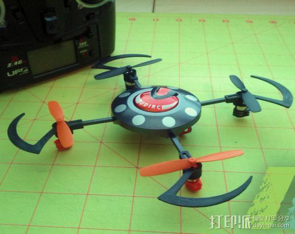 UDI U816四轴飞行器 3D模型  图4