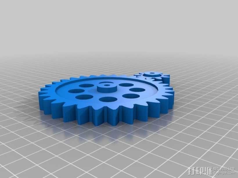 小型卷机 3D模型  图6