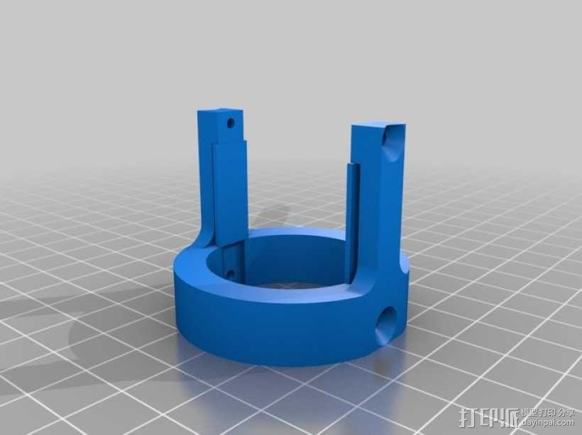 4.8V 螺丝刀 3D模型  图3