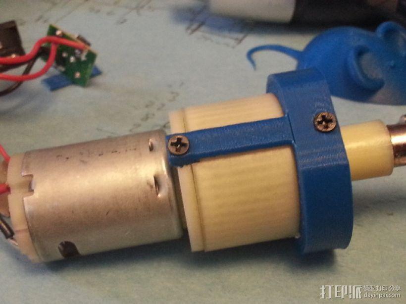 4.8V 螺丝刀 3D模型  图4