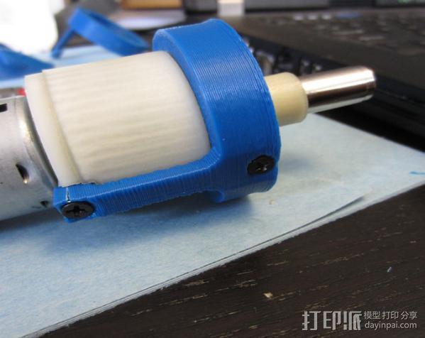 4.8V 螺丝刀 3D模型  图2