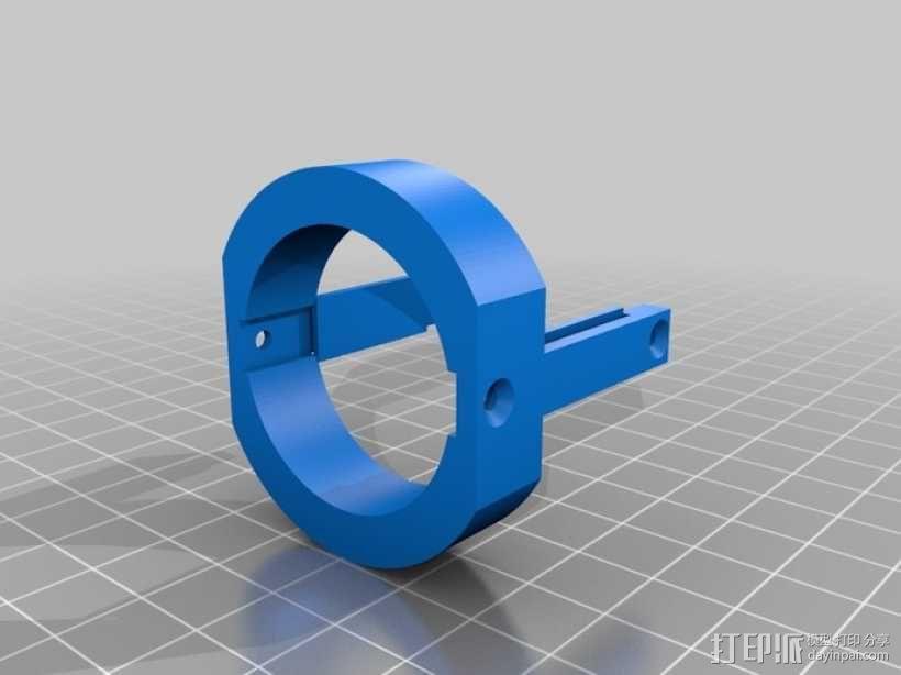 4.8V 螺丝刀 3D模型  图5