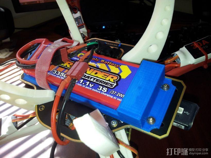 3s电池箱 3D模型  图2