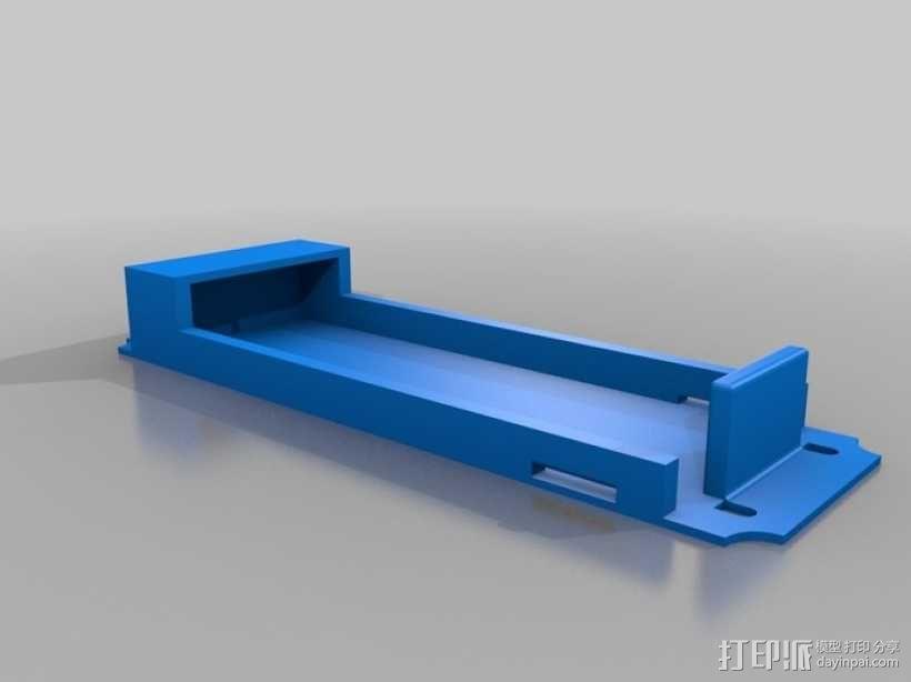 3s电池箱 3D模型  图1