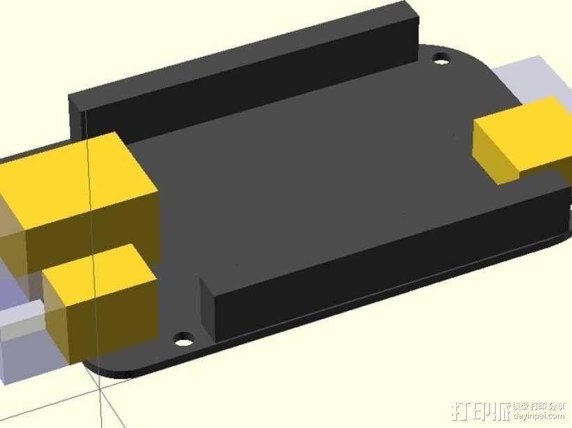 黑色模型 3D模型  图1