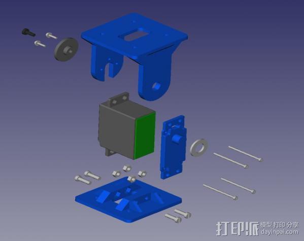 REPYZ模块 3D模型  图7
