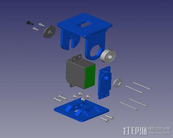 REPYZ模块 3D模型  图10
