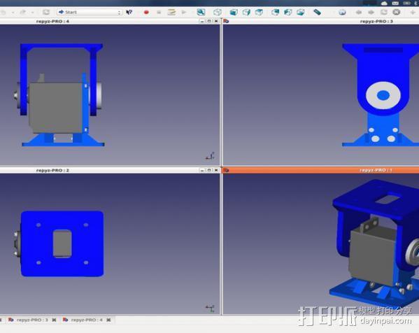 REPYZ模块 3D模型  图12