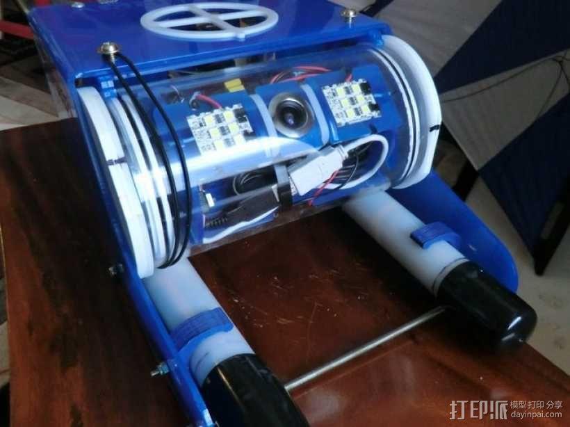 电池管管夹 3D模型  图3