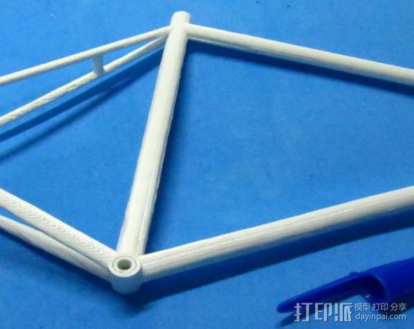 公路自行车架 3D模型  图6