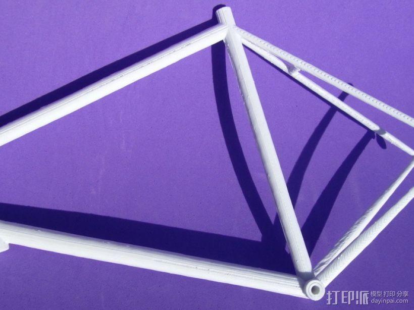 公路自行车架 3D模型  图7