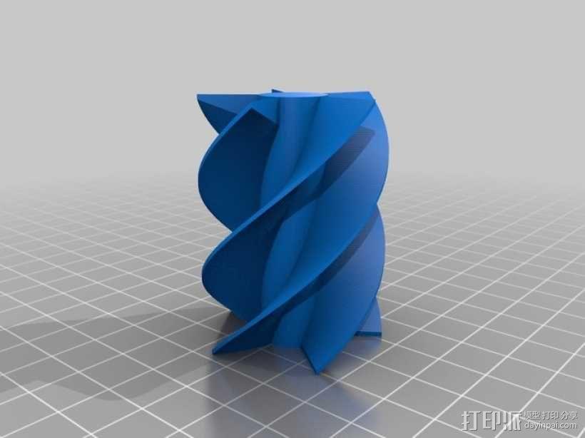 螺旋钻 3D模型  图1