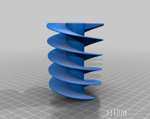 螺旋钻 3D模型  图3