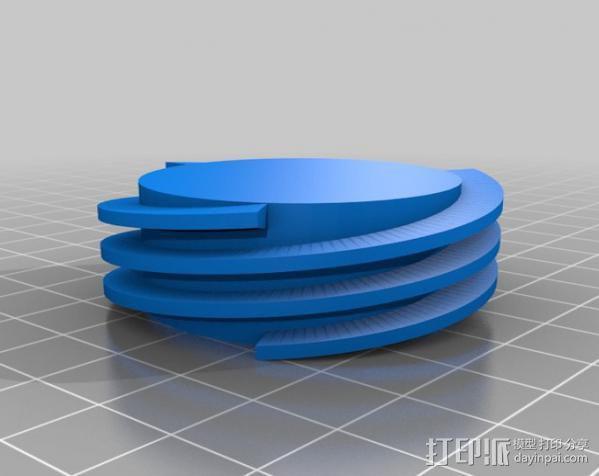 螺旋钻 3D模型  图4