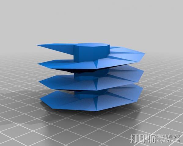 螺旋钻 3D模型  图7
