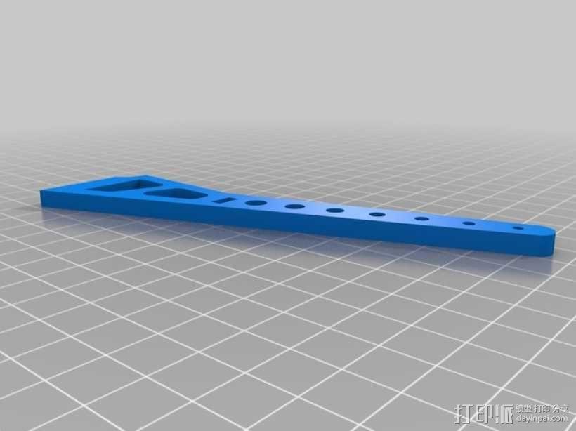 DJI F450 F550 风火轮 3D模型  图1