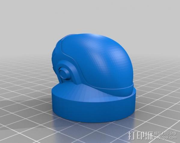 黑胶唱片 3D模型  图3