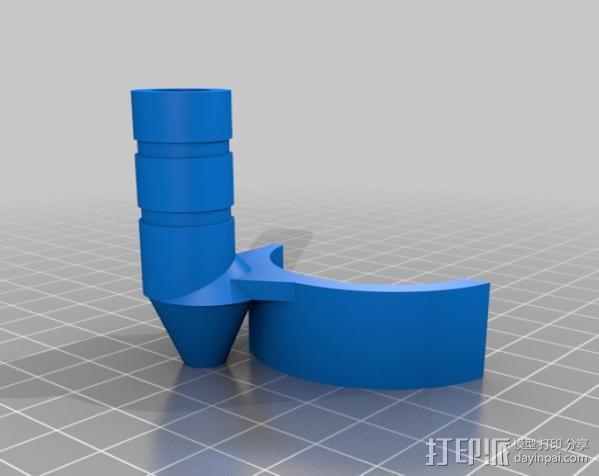 感应安装器 3D模型  图3