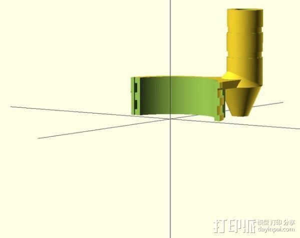 感应安装器 3D模型  图5