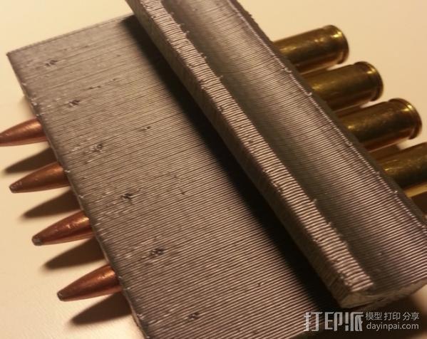 子弹固定壳 3D模型  图4
