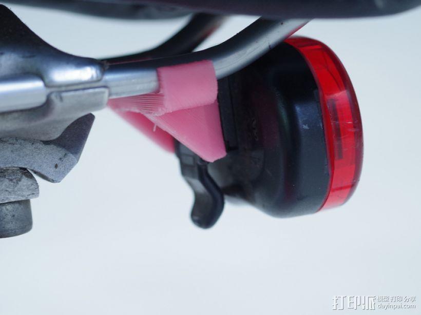 自行车LED灯支架 3D模型  图1