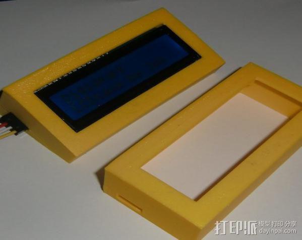 串行LCD 3D模型  图2