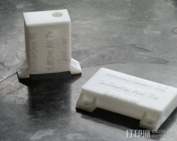 RC 5.8GHz 600mW盒子 3D模型  图3