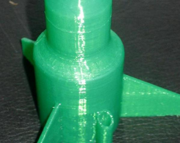 单人火箭模型 3D模型  图4