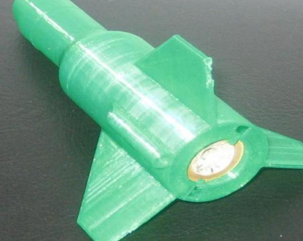 单人火箭模型 3D模型  图3