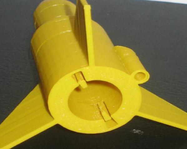 单人火箭模型 3D模型  图5
