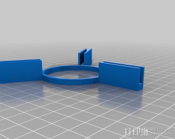 火箭基座 3D模型  图2