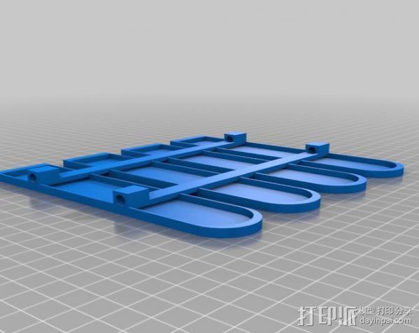 围栏 3D模型  图3