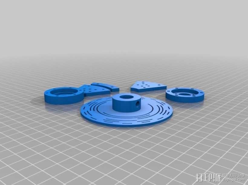 格雷编码器 3D模型  图1