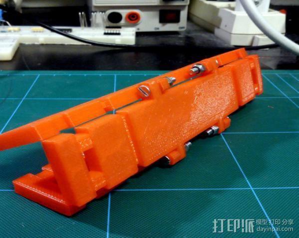 自动滚轴器 3D模型  图2