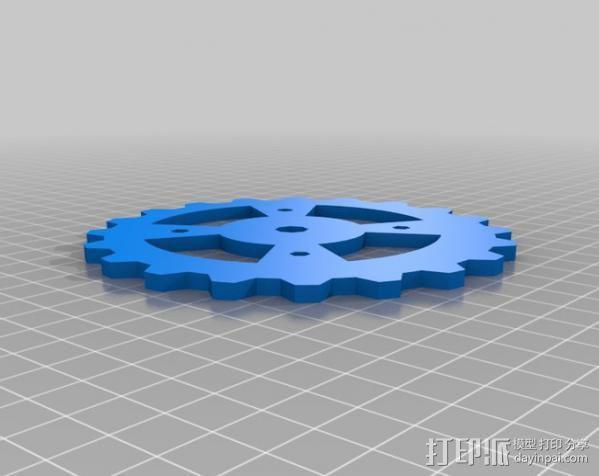 自动滚轴器 3D模型  图5