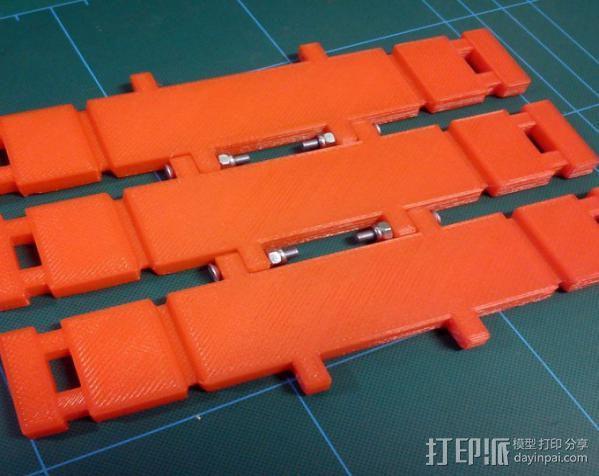 自动滚轴器 3D模型  图3