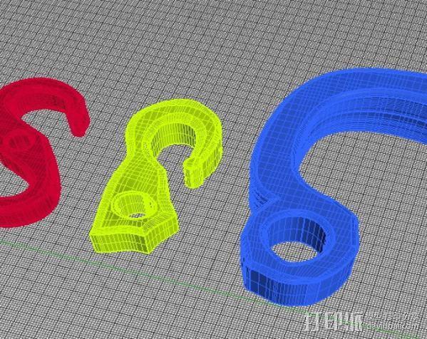 钩子 3D模型  图7