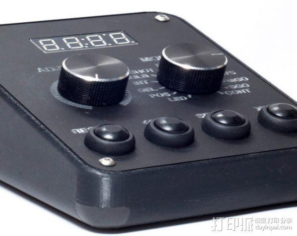 延时控制器 3D模型  图1