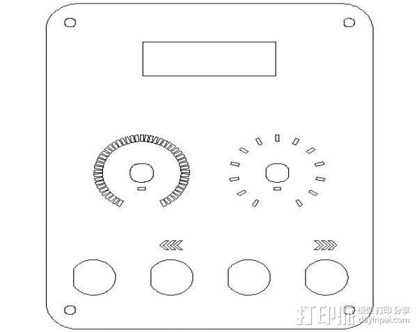 延时控制器 3D模型  图3