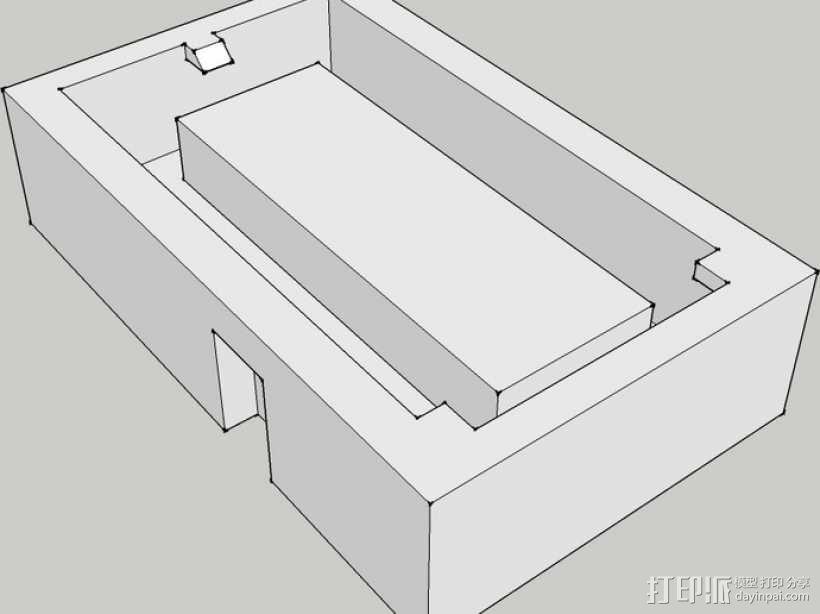 芯片板 3D模型  图4