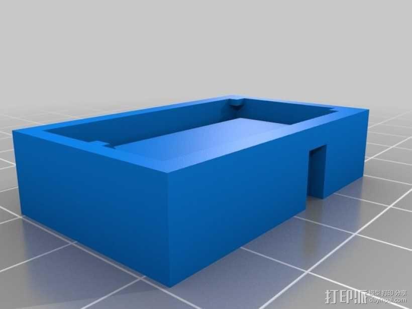 芯片板 3D模型  图2