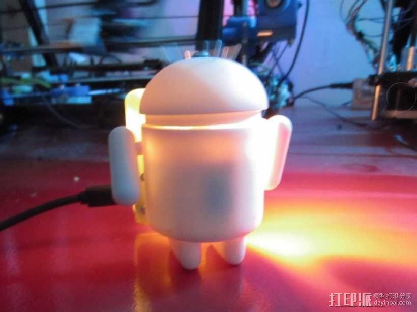 安卓玩具 3D模型  图1