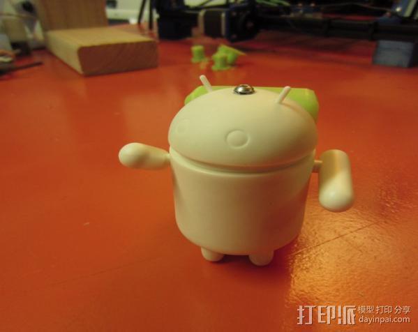 安卓玩具 3D模型  图4