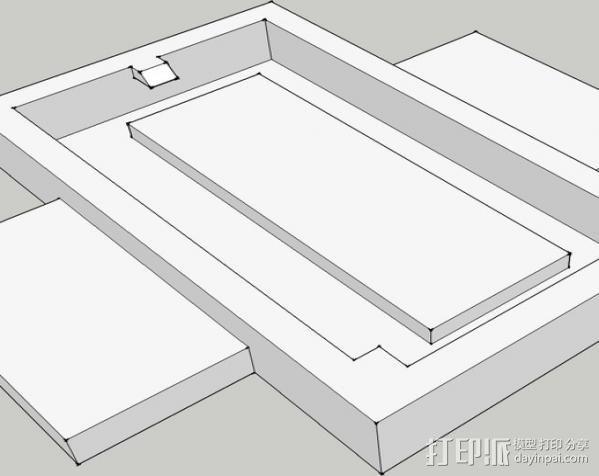 迷你架子 3D模型  图3